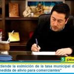 """Leo Nardini extiende la eximición de la tasa municipal de junio, julio y agosto: """"una medida de alivio para comerciantes"""""""