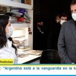 "Sergio Massa: ""Argentina está a la vanguardia en la lucha contra el coronavirus"""
