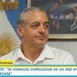 """Pietragalla Corti: """"la violencia institucional es un mal en democracia y debe ser erradicada"""""""