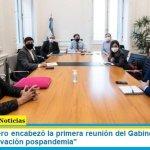 """Santiago Cafiero encabezó la primera reunión del Gabinete de Tierras: """"plan de reactivación pospandemia"""""""