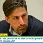 """Ministro Trotta: """"las provincias en fase cinco empezarán clases desde agosto en forma escalonada"""""""