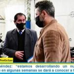 """Gustavo Menéndez: """"estamos desarrollando un nuevo plan de seguridad que en algunas semanas se dará a conocer a la sociedad"""""""