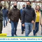 """Ministro Cabandié a la Justicia: """"actúe, resuelva y no tenga miedo"""""""