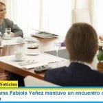 La Primera Dama Fabiola Yañez mantuvo un encuentro con la ministra Gómez Alcorta