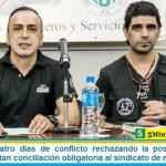 Luego de cuatro días de conflicto rechazando la postergación de paritarias, dictan conciliación obligatoria al sindicato de motoqueros