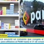 Luana Volnovich anunció un convenio que congela el precio de los medicamentos para afiliados al PAMI hasta el 31 de octubre