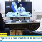 """Sergio Massa """"tenemos la responsabilidad de devolverle la esperanza a los argentinos"""""""