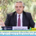 Fernández: «No estamos sembrando discordias sino igualdad. Ningún diálogo se rompe, pero a alguno le duele renunciar a los privilegios»