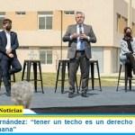 """Presidente Fernández: """"tener un techo es un derecho que hace a la condición humana"""""""