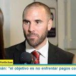 """Ministro Guzmán: """"el objetivo es no enfrentar pagos con el FMI hasta 2024"""""""