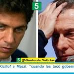 "Gobernador Kicillof a Macri: ""cuando les tocó gobernar rompieron todo"""