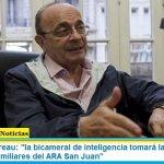 """Leopoldo Moreau: """"la bicameral de inteligencia tomará la denuncia por espionaje a familiares del ARA San Juan"""""""