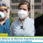 Advertencia de Médicos de Malvinas Argentinas preocupados ante las reuniones sociales sin protocolos ni cuidados