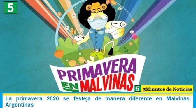 La primavera 2020 se festeja de manera diferente en Malvinas Argentinas