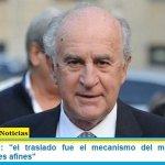 """Oscar Parrilli: """"el traslado fue el mecanismo del macrismo para nombrar jueces afines"""""""