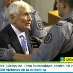 Comenzaron los juicios de Lesa Humanidad contra 18 represores por delitos a casi 500 víctimas en la dictadura