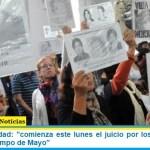 """Lesa Humanidad: """"comienza este lunes el juicio por los 'vuelos de la muerte' de Campo de Mayo"""""""