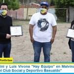 """Con Leo Nardini y Luis Vivona """"Hay Equipo"""" en Malvinas Argentinas: """"reformas en el Club Social y Deportivo Basualdo"""""""