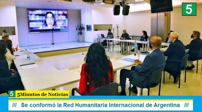 Se conformó la Red Humanitaria Internacional de Argentina