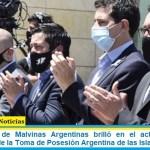 El Municipio de Malvinas Argentinas brilló en el acto central del Bicentenario de la Toma de Posesión Argentina de las Islas Malvinas
