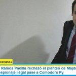 El juez federal Ramos Padilla rechazó el planteo de Majdalani para que su causa por espionaje ilegal pase a Comodoro Py