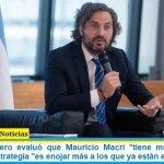 """Santiago Cafiero evaluó que Mauricio Macri """"tiene muy poco para aportar"""" su estrategia """"es enojar más a los que ya están enojados"""""""