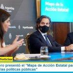 """Santiago Cafiero presentó el """"Mapa de Acción Estatal para potenciar la efectividad de las políticas públicas"""""""