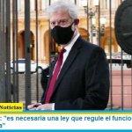 """Carlos Beraldi: """"es necesaria una ley que regule el funcionamiento de la Corte Suprema"""""""