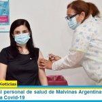 Se aplicaron al personal de salud de Malvinas Argentinas las primeras vacunas contra Covid-19