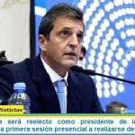 Sergio Massa será reelecto como presidente de la Cámara de Diputados en la primera sesión presencial a realizarse desde marzo