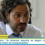 """Santiago Cafiero: """"la inmensa mayoría se alegró con la vacuna, necesitamos de todos sin mezquindades"""""""