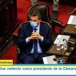 Sergio Massa fue reelecto como presidente de la Cámara de Diputados de la Nación