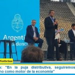 """Sergio Massa: """"En la puja distributiva, seguiremos eligiendo al mercado interno como motor de la economía"""""""