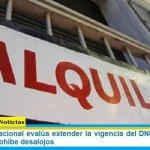 El Gobierno nacional evalúa extender la vigencia del DNU que congela alquileres y prohíbe desalojos