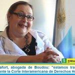 Graciana Peñafort, abogada de Boudou: «estamos trabajando en la presentación ante la Corte Interamericana de Derechos Humanos»