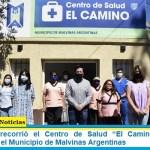 """Leo Nardini recorrió el Centro de Salud """"El Camino"""" totalmente renovado por el Municipio de Malvinas Argentinas"""