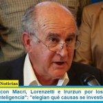 Parrilli duro con Macri, Lorenzetti e Irurzun por los «organismos paralelos de inteligencia»: «elegían qué causas se investigaban»