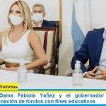 La Primera Dama Fabiola Yañez y el gobernador de Misiones anunciaron donación de fondos con fines educativos