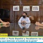 """Leo Nardini recibió a Paula Español y fiscalizaron los precios de los alimentos: """"Hay que defender el bolsillo de la gente"""""""