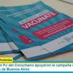 Intendentes del PJ del Conurbano apoyaron la campaña de vacunación en la provincia de Buenos Aires