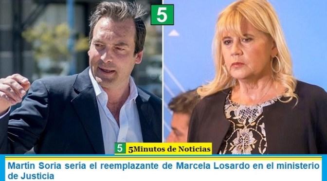 Martín Soria sería el reemplazante de Marcela Losardo en el ministerio de Justicia