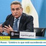 """Ministro Rossi: """"Celebro lo que está sucediendo en Bolivia"""""""