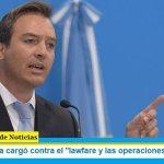 """Martín Soria cargó contra el """"lawfare y las operaciones judiciales"""""""