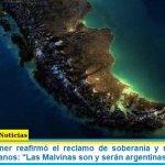 """Cristina Kirchner reafirmó el reclamo de soberanía y recordó a los caídos y veteranos: """"Las Malvinas son y serán argentinas"""""""