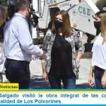 María Luján Salgado visitó la obra integral de las calles Artigas y Savio en la localidad de Los Polvorines