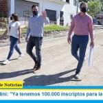 "Leo Nardini: ""Ya tenemos 100.000 inscriptos para la vacuna"""