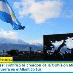 El ministro Rossi confirmó la creación de la Comisión Malvinas por los 40 años de la guerra en el Atlántico Sur