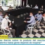 """Ministra Teresa García sobre la postura del macrismo: """"Mientras escribían en Palermo había gente dejando de respirar"""""""