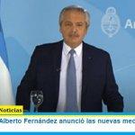 El Presidente Alberto Fernández anunció las nuevas medidas contra el coronavirus