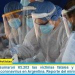 Este martes sumaron 65.202 las víctimas fatales y 3.047.417 los infectados por coronavirus en Argentina. Reporte del ministerio de Salud